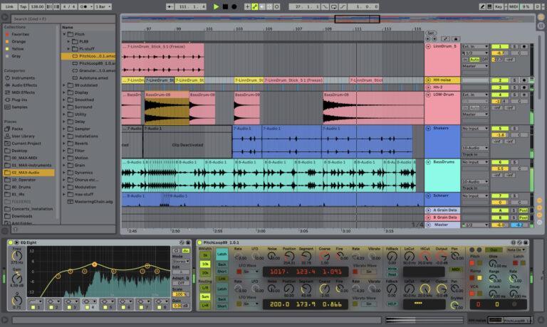 אבלטון לייב תוכנה פופולרית להפקה ויצירת מוזיקה בלייב